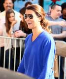 Cote de Pablo - Outside the Ed Sullivan Theater for Letterman - Apr 25, 2011 (x48)