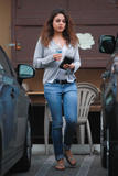 Mila Kunis - Candids Leaving Thai Massage - Dec 7, 2012 (x7)