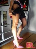 Andrea  Rincon (Selena Spice) Striptease Primera Prenda Foto 13
