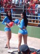 Edecan en Estadio Mateo Flores - Guatemala
